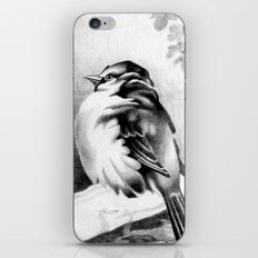 Sparrow In The Cold 2 iPhone Skin