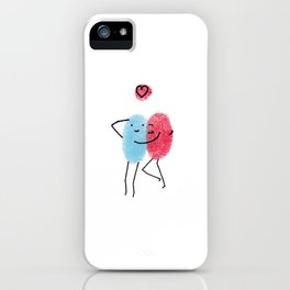 Cuddle iPhone Case
