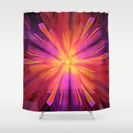 Hyperspace Jump Shower Curtain