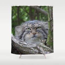 Wild Cat Shower Curtain