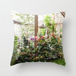 The Garden Shop Throw Pillow