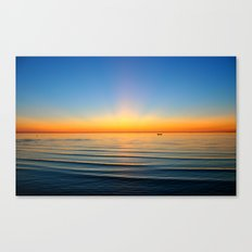 Sunset in Cape Cod Canvas Print