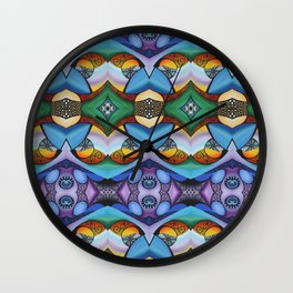 All Mixed-Up Wall Clock