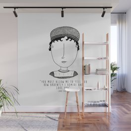 Amor literario: Jane Austen Wall Mural