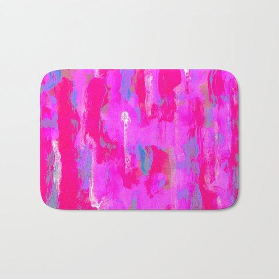Vibrant Pink Bath Mat
