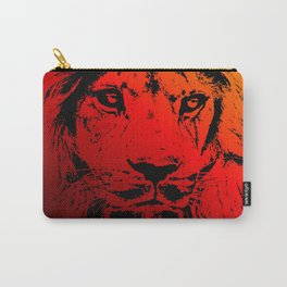 Incandescent Lion Carry-All Pouch