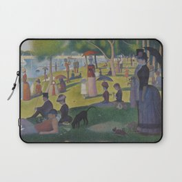 A Sunday Afternoon on the Island of La Grande Jatte (High Resolution) Laptop Sleeve
