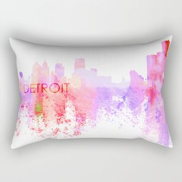 Love Detroit Rectangular Pillow
