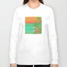 A Frame Dream Home Surf Paradise Long Sleeve T-shirt