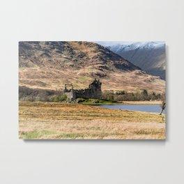 Kilchurn Castle Metal Print