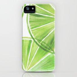 Fresh Lime ~ Summer Citrus iPhone Case