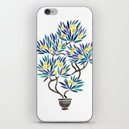 Bonsai Fruit Tree – Lemons iPhone Skin