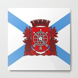flag of Rio de Janeiro Metal Print