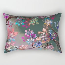 Floral abstract 76 Rectangular Pillow