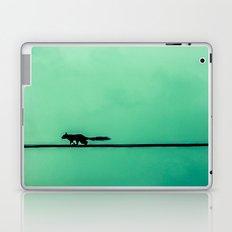 Squirrel on High Laptop & iPad Skin