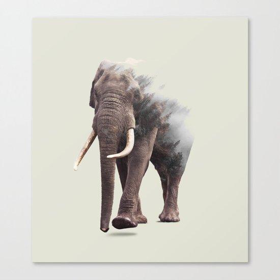Elephantastic #society6 #decor #buyart Canvas Print