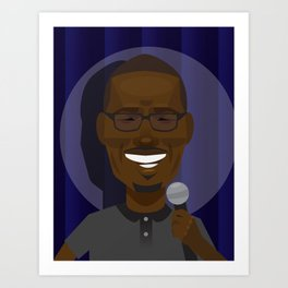 Hannibal Buress Art Print