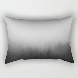 Misty Forest I Rectangular Pillow