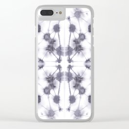 Mirror Dye Stone Clear iPhone Case