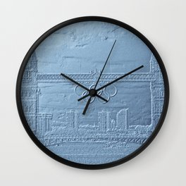 Tower Bridge art Wall Clock