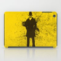 watchmen iPad Cases featuring WATCHMEN - RORSCHACH (YELLOW EDITION) by Zorio