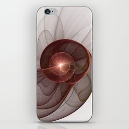 Abstract Digital Art, Fantasy Figure iPhone Skin