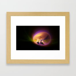 The Egg of Truth Framed Art Print