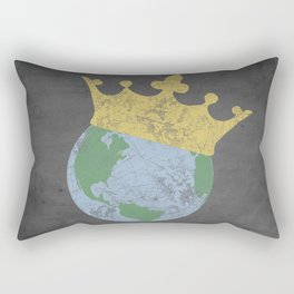 King Of The World Rectangular Pillow