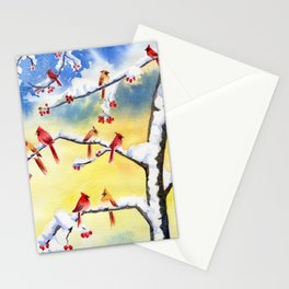 Winter Song 2 Stationery Cards