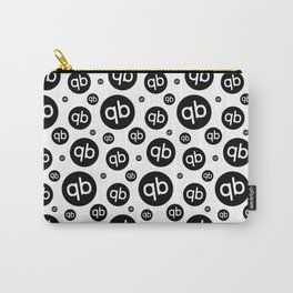 qiibee Pattern Black Carry-All Pouch