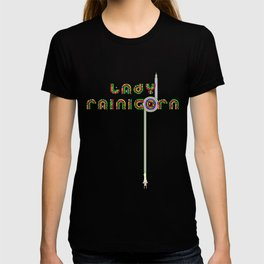 Lady Rainicorn T-shirt