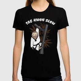 Tae Kwon Slow - Funny Martial Art Sloth T-shirt