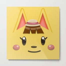 Animal Crossing Katie Metal Print