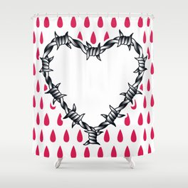 Love you (variation 06) Shower Curtain