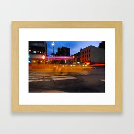 The Fast Life Framed Art Print