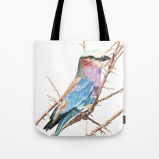 Lilac breasted roller Tote Bag