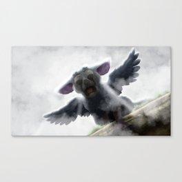 Falling - Trico Canvas Print
