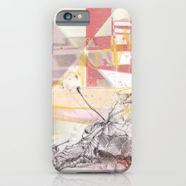 Leaves in levity iPhone Case