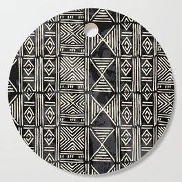Tribal mud cloth pattern Cutting Board