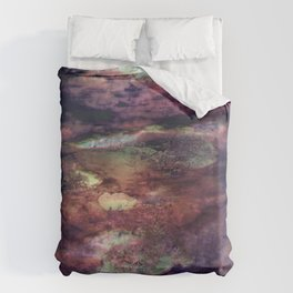 Space Algae Duvet Cover