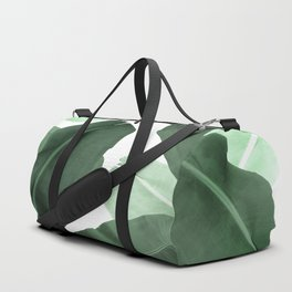 Green Banana Leaf Duffle Bag