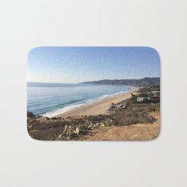 Malibu, California - Coastline Bath Mat