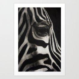 ZEBRA No. 3 Art Print