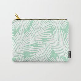Areca Palm minimal tropical house plants minimalism art print zen chill decor Carry-All Pouch