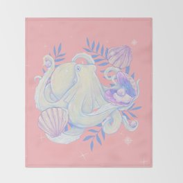 Mother Of Pearl Throw Blanket