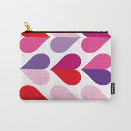 Love and Kisses in Ultra Violet Carry-All Pouch
