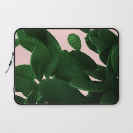 Cactus On Pink Laptop Sleeve