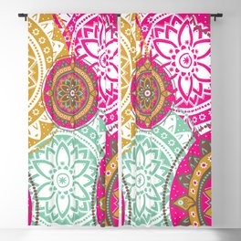 Mandala Bohemian Hippie Spiritual Zen Yoga Mantra Meditation Blackout Curtain