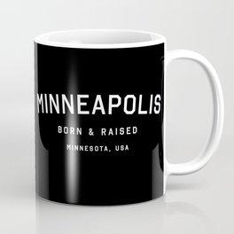 Minneapolis - MN, USA (Black Arc) Coffee Mug