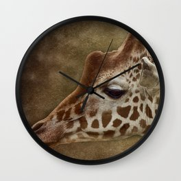 Its all in a Glance Wall Clock